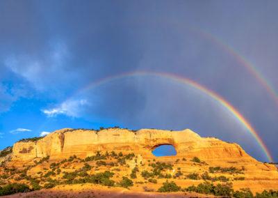 Wilson Arch Double Rainbow